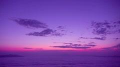 Dawn at Tsubetsu Pass, Hokkaido, Japan Stock Footage