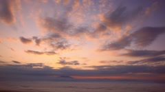 Dawn at Koshimizu Pass, Hokkaido, Japan Stock Footage