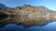 Joshinetsu Kogen National Park, Nagano Prefecture, Japan Stock Footage