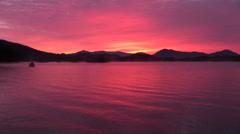 Lake Hibara, Fukushima Prefecture, Japan - stock footage