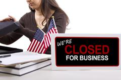 Government Shutdown - stock photo