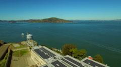 Alcatraz Aerial Stock Footage