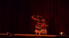 Dancers at Kandyan Cultural centre,Kandy,Sri Lanka Stock Footage