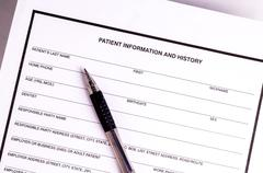 Medical records - stock photo