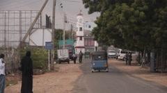 Clocktower,Trincomalee,Sri Lanka Stock Footage