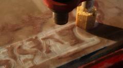 Sandblasting machine Stock Footage
