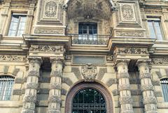 Stock Photo of PARIS - JULY 20, 2014: View of Louvre Museum Complex. Louvre Museum is one of