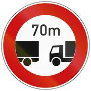 Minimum Distance - stock illustration