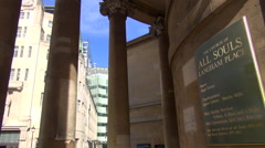 BBC from All Souls Stock Footage