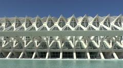 Museo se las Ciencias Principe Felipe, City of Arts & Science, Valencia, Spain. Stock Footage