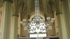 Lamp in the temple Stock Footage