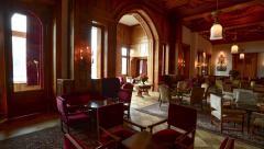 Interior Badrutt Palace Hotel, St. Moritz Stock Footage