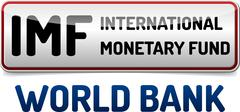 IMF International Monetary Fund, World Bank Stock Illustration
