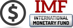 IMF International Monetary Fund, World Bank - stock illustration