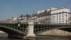 Paris sightseeing vehicle shot boat tour - 60fps Stock Footage