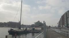 Amsterdam HD docks _5 Stock Footage