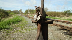 Country Rail Line Stock Footage