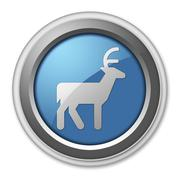 Icon, Button, Pictogram Deer Stock Illustration
