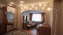 Dressing Room. Make-up Room. Hotel Room - stock footage
