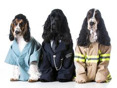 first responders - stock photo