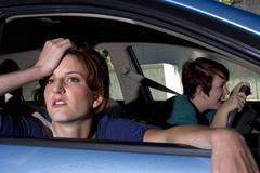 Car Sickness Stock Photos