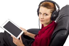 Streaming Web Cast - stock photo
