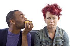 Food Temptations Stock Photos