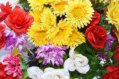 florals ornament - stock photo