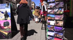 Curio Shops in San Francisco, Chinatown Stock Footage