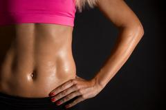 Female Abs Stock Photos