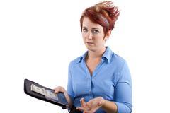 Waitress Gratuity/Tips - stock photo