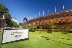 National Wine Centre of Australia in Adelaide Stock Photos