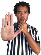 Black Male Referee Stock Photos