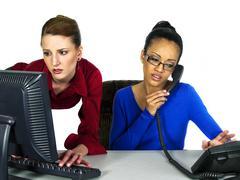 Office Failure - stock photo