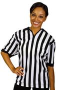 Stock Photo of Female Referee