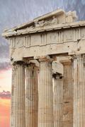 Parthenon in Athens Kuvituskuvat