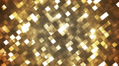 Broadcast Twinkling Fire Light Diamonds, Brown, Abstract, Loopable, HD Stock Footage