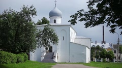 Russian Church 17th century Stock Footage