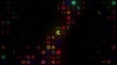Arcade LED WindmillHD Stock Footage