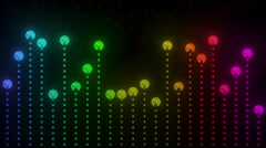 Arcade LED Pacalizer Stock Footage