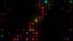 Arcade LED Windmill Stock Footage