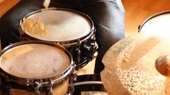 Drumming Stock Footage