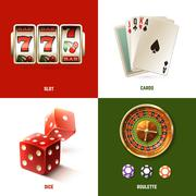 Casino Design Concept - stock illustration