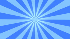 Rotating Stripes Background Animation - Loop Blue Stock Footage