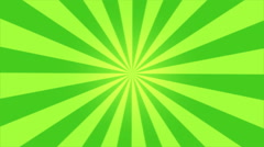 Rotating Stripes Background Animation - Loop Green Stock Footage