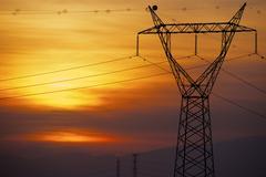 Power line - stock photo