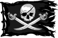 Jolly Roger Stock Illustration