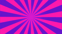 Rotating Stripes Background Animation - Loop Pink Stock Footage