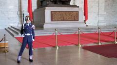 2015 02 02 Taipei Chiang Kai Shek Memorial Hall 06 HD Stock Footage