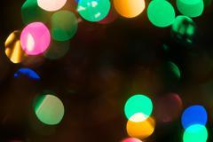 Christmas Bokeh background.. - stock photo